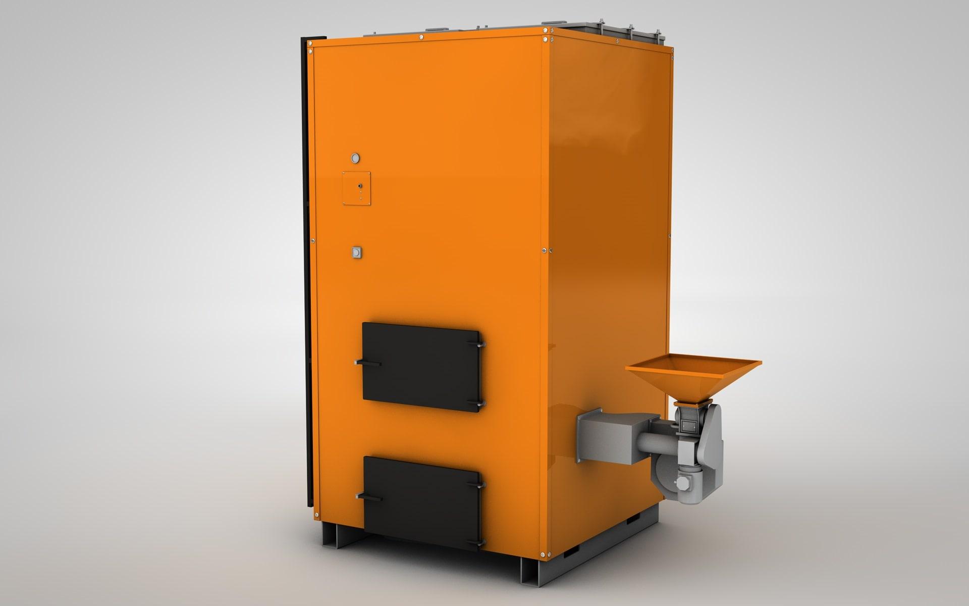 Пеллетный котел 500 кВт